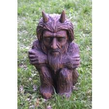 obrázek Dřevěná socha - Pohádkový čert