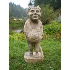 obrázek Dřevěná socha - Malý čert