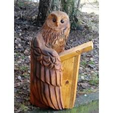 obrázek Dřevěná budka pro ptáky