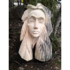 obrázek Dřevěná plastika - Dívka I