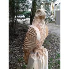 obrázek Dřevěná socha - Orel I