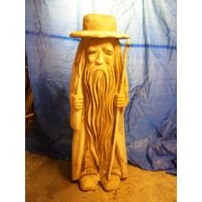 obrázek Dřevěná socha - Krakonoš malý