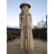 obrázek Dřevěná socha - Krakonoš velký
