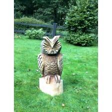 obrázek Dřevěná socha - Sova I