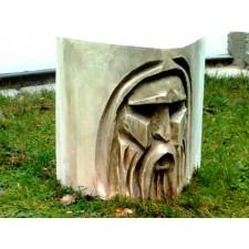 obrázek Dřevěný podstavec pod květináč - Torzo dědek