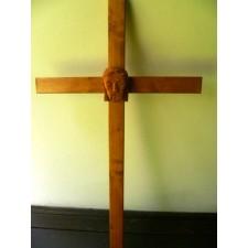 obrázek Dřevěný Kristus na kříži