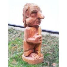 obrázek Dřevěný Troll z masivu - dub