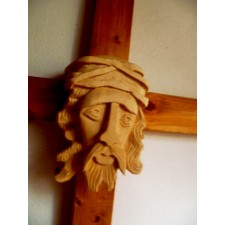 obrázek Dřevěný Kristus na kříži II