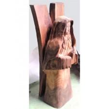 """obrázek Dřevěná socha - """"Andělína"""""""