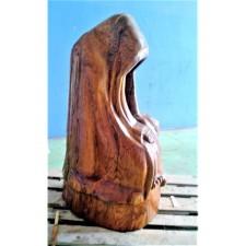 obrázek Dřevěná socha - Čekání