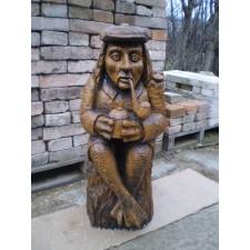 obrázek Dřevěná socha - Vodník
